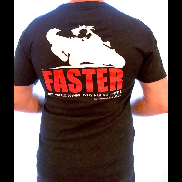 Faster T-shirt Back